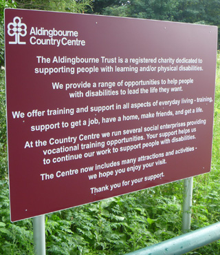 JL Signs Aldingbourne Country Centre